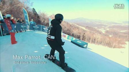 2016科罗娜单板滑雪世锦赛坡式障碍赛男子组决赛精彩瞬间!