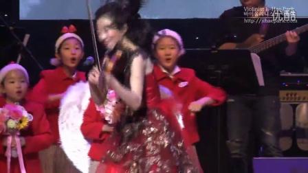 【高清】韩国小提琴家朴智慧super tour首尔站:圣诞音乐-铃儿响叮当