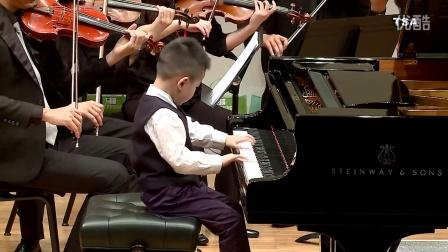 台湾铃木协会  Haydn Piano Concerto in C major 2nd mvt/蓝  绍齐