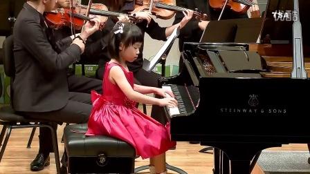 台湾铃木协会Haydn Concerto in C major  Annabelle Huang(Age6)