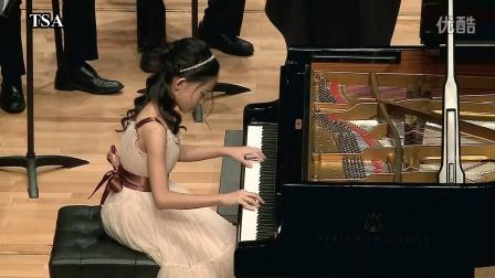 台湾铃木协会Mozart Concerto No.20 in d minor K .466 陈 瑀绵  (10岁)