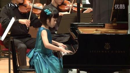 台湾铃木协会 莫扎特 钢琴协奏曲K595 黄 凤绮 7 岁