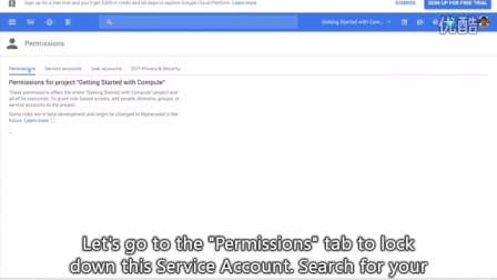 Creating and Using Service Accounts