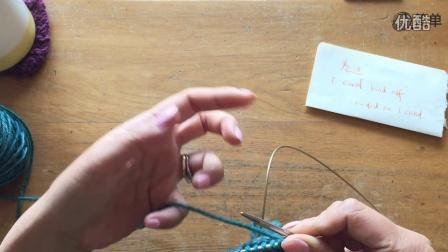 i cord bind off 滚边收针