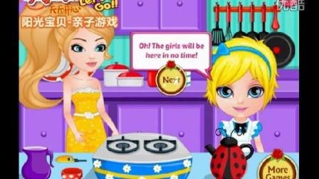早教百科视频 芭比公主动画片大全中文版 芭比公主的茶话会 芭比之梦
