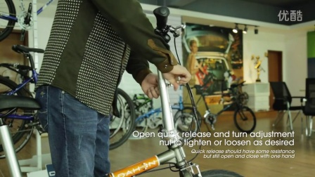 How to Adjust Quick Releases on Your DAHON Folding Bike