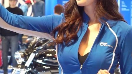 首尔摩托车展 模特 洪智妍  2016 Seoul Motorcycle Show 美女车模 N6