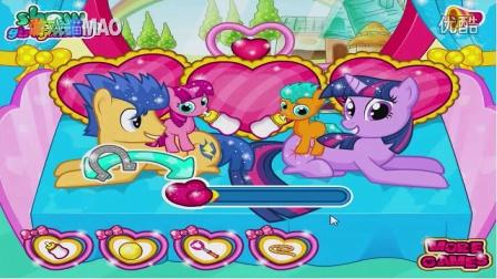 小马宝莉 紫悦生双胞胎 朵拉索菲亚芭比公主美人鱼 游戏猫