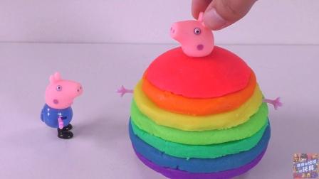 吃掉魔法蛋的粉红猪小妹瞬间变彩虹巨胖猪 413