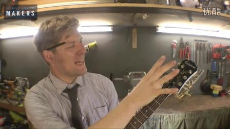 国外牛人制造喷火吉他
