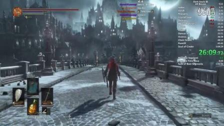 Distortion2-【RTA】【Dark Souls 3】黑暗之魂3 v1.04 一周目 boss rush 全boss速攻 1h03m44s