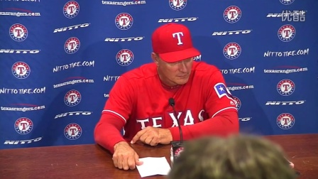 SEA@TEX Banister on Holland and the Rangers 3-2