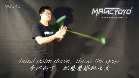 Magicyoyo Present YoYo Tutorial 2A-08-Loop the loop