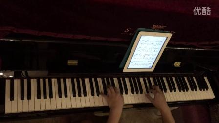 小时代4主题曲《灵魂尽头》钢琴曲  琴键狂舞