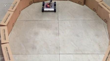 4WD 超声波侦测避障小车演示视频