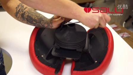 Salli马鞍椅 - 高度调节机件杠杆把手更换方法