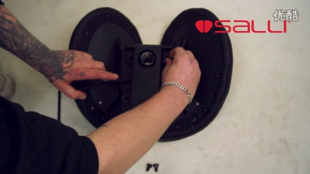 Salli马鞍椅 - 基础款配装机件安装方法(不可前后倾斜)