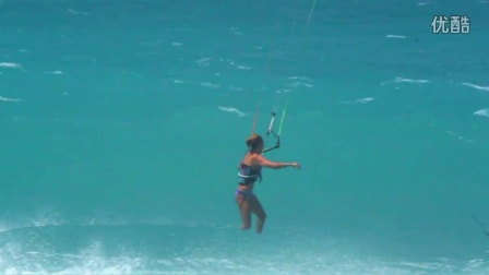 美女风筝冲浪 Wainman Hawaii