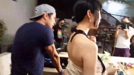 钱小佳和日本女优在北京20160705_19-23-57]