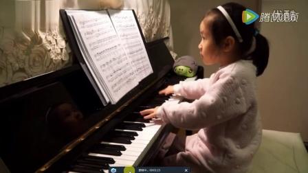 4岁小孩神一般的钢琴演奏