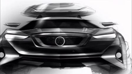 Photoshop手绘板绘制奔驰汽车效果图教程