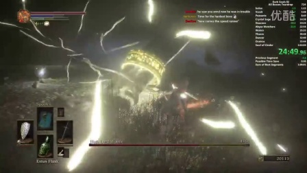 Distortion2-【RTA】【Dark Souls 3】黑暗之魂3 v1.06 一周目boss rush 全boss速攻 1h59s