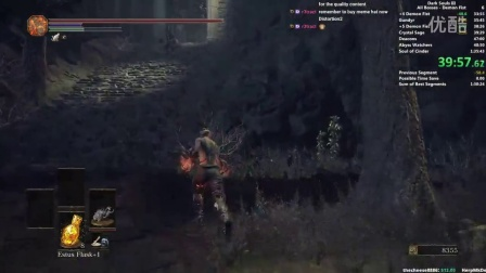 Distortion2-【RTA】【Dark Souls 3】黑暗之魂3 v1.06 一周目手撕全boss