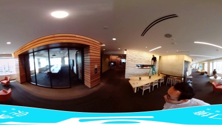 【Eyesir4K VR全景相机】Eyesir美国微软的一天