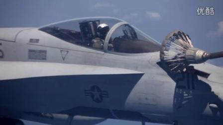 美军F-18大黄蜂空中加油