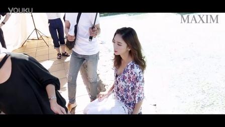 MAXIM Cover 이태임 화보 촬영 현장 선공개!