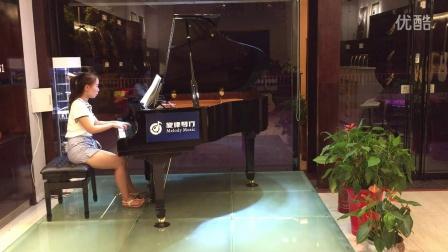 《肖邦小调夜曲》   岳阳市旋律琴行 布什戈尔茨钢琴-1音色试听