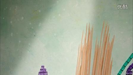 海底世界创意定格动画《海马》