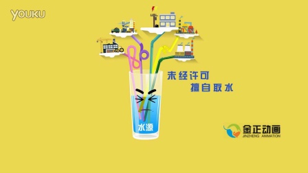 水法宣传公益动画(聊城市水利局)
