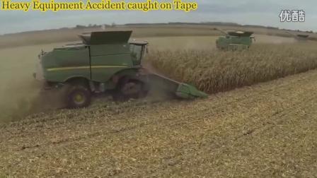 玉米收割机作业视频