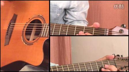 【玄武指弹吉他教学】《外面的世界》改编版 吉他弹唱教学