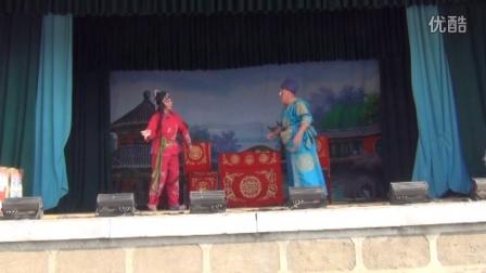 著名繁峙秧歌表演艺术家栗喜军夫妇刘家庄2