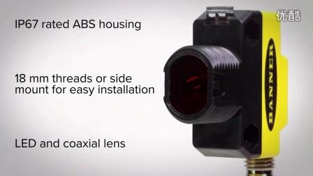 邦纳QS18 COD透明物检测传感器