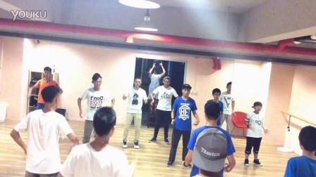 【欧吉舞蹈】Popping导师 – 张诗豪和学生们 – 20160826