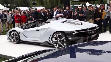 兰博基尼Centenario敞篷版车型震撼发布!