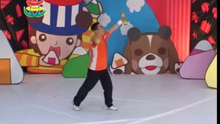 幼儿园开学舞蹈视频小班幼儿园大班早操视频-哑铃有氧操(哑铃)