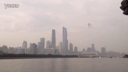 2016年6月广州拍到倒金字塔形子母UFO