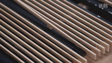 Bang & Olufsen / B&O / BV 14 超高清电视机 - 橡木面罩制作的秘密(BO丹麦音响)
