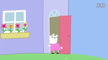 小猪佩奇打针 粉红猪小妹淋雨感冒