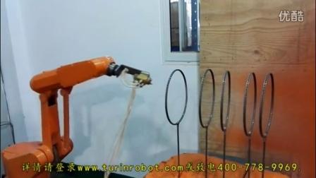 爱剪辑-图灵机器人喷涂羽毛球拍(橙色)
