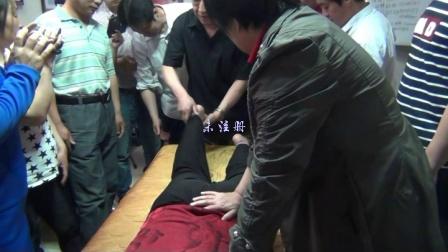 正骨手法~工作很累,导致含胸驼背,