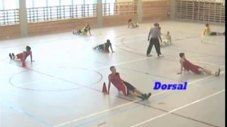 欧洲青少年篮球基本功训练视频