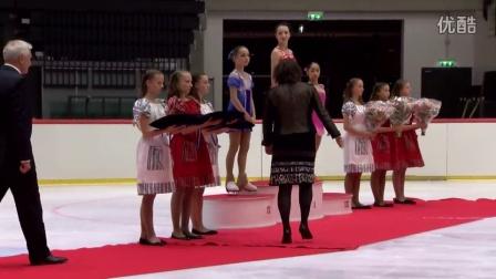 2016年花滑少年大奖赛爱沙尼亚站 - 女子比赛颁奖仪式