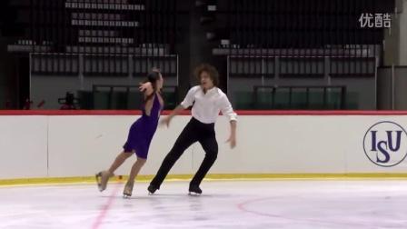 2016年花滑少年大奖赛爱沙尼亚站 - 冰舞短舞 - 第一名 - Alla LOBODA / Pavel DROZD