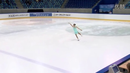 2016年花滑少年大奖赛德国站 - 女子短节目 - 第一名 - Anastasiia GUBANOVA