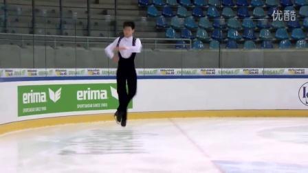 2016年花滑少年大奖赛德国站 - 男子短节目 - 第十名 - 李宇恒